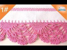 Captivating All About Crochet Ideas. Awe Inspiring All About Crochet Ideas. Crochet Lace Edging, Granny Square Crochet Pattern, Crochet Borders, Crochet Flower Patterns, Crochet Stitches Patterns, Love Crochet, Crochet Designs, Crochet Flowers, Knit Crochet