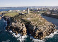 Torre de Hércules, La Coruña, Galicia, España
