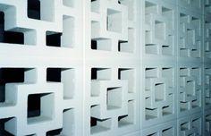 brick lattice wall at a hotel, love the concrete blocks Concrete Blocks, Cement, Lattice Wall, Privacy Walls, Social Housing, Backyard Retreat, Google Images, Exterior, The Originals