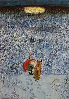 """""""the gnome and the fox""""~Harald Wiberg"""