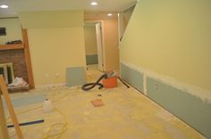 Our Day House: Basement: remodeling and rebuilding