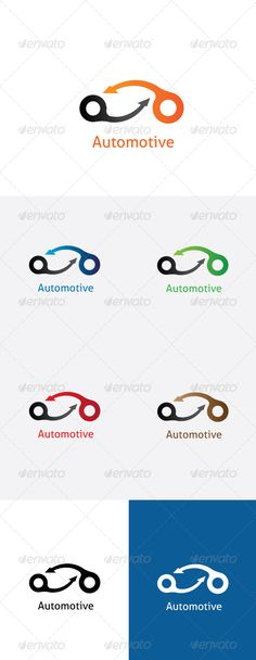 Automotive Logo Template. — Vector EPS #clean #builders • Available here → https://graphicriver.net/item/automotive-logo-template/5898019?ref=pxcr