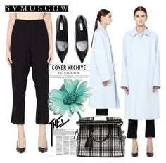 """""""SV MOSCOW"""" by gaby-mil ❤ liked on Polyvore featuring Maison Margiela, Ann Demeulemeester, Balenciaga and svmoscow"""