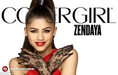 Premiere: Zendaya's first CoverGirl commercial debuted during the Grammy Awards on Monday night