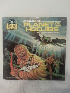 Star Wars Planet of the Noobs The Further Adventure Vinyl Story Book #454