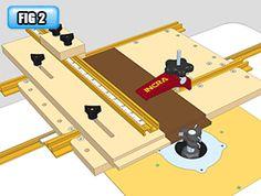 INCRA TOOLS :: Jig & Fixture Components :: Build-It System :: INCRA Free Jig Plans - 003