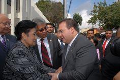 El gobernador Javier Duarte de Ochoa brinda primer informe del Tribunal Estatal Electoral en la ciudad de Xalapa