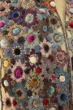 """""""Fleur velvet"""" small scarf"""