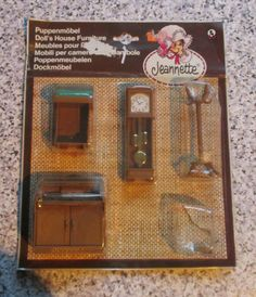 vintage *JEAN of WEST GERMANY* OFFICE FURNITURE in packet - 16th / Lundby size | eBay