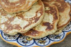 Paleo Naan Bread *ground flaxseed, eggs, greek YOGURT or coconut milk, olive oil, coconut flour, arrowroot, baking powder, vinegar