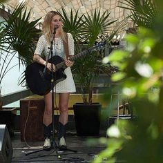 """#SendraLovesMusic """"With my music & my #Sendraboots everywhere"""" @crismendezmusic from the #IndependentMusicFestival in Centro Cultural de España in México.  #Sendra #Sendraboots #handmade #handmadeboots #highquality #madeinspain"""