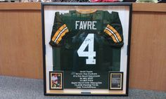 Framed at The Great Frame Up, Spring. Pro Bow, Sports Frames, Green Bay Packers, Spring