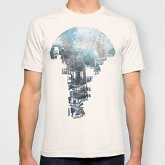 Secret Streets II T-shirt by David Fleck - $22.00