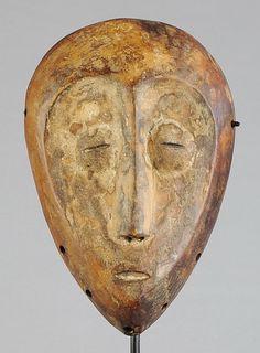 Masque LEGA - Bwami - Mask- Congo RDC - MC0323 – Galerie de la Louve - Arts Premiers