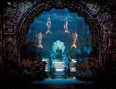 The Enchanted Island Neptune scene