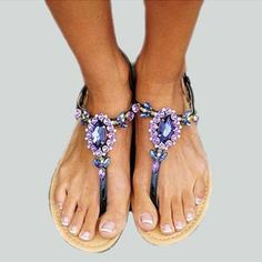Flat Sandals shoes footwear boot Women Shoes Platform Creepers Female Slip On Moccasins Suede Elastic Band Sewing Casual hot summer Pearl Sandals, Flat Sandals, Leopard Print Sandals, Bohemian Sandals, Cheap Shoes Online, Sandals Online, Womens Summer Shoes, Casual Heels, Fashion Shoes
