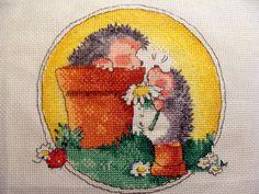 Happy Hedgehogs - Margaret Sherry