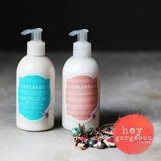 Caramel Hand wash & Coconut hand lotion!! Yummmmm