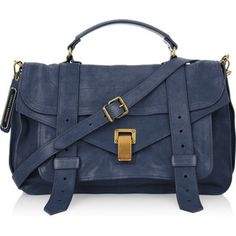 This is on my LIST - Proenza Schouler PS1 Large leather satchel!