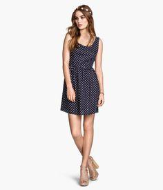 H&M Gepunktetes Kleid  14,99