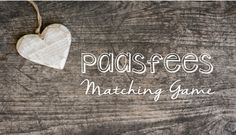 Paasfees Matching Game