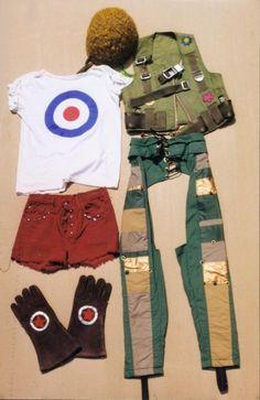Tank Girl  Lori Petty (Tank Girl)  Bullseye Outfit