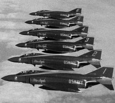 The F-4 Phantom IIwas a twin-engined, long-range supersonic jet fighter-bomber and interceptor. It turned out to be a versatile fighter, the F-4 fighter became a major part of the air wings of the United States Navy, Marine Corps, and Air Force. It was used extensively during the Vietnam War. It was the principal air superiority fighter for both the Navy and Air Force.