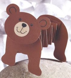 Cute Monkey Craft For Kids (With Free Printable Template) Bear Crafts Preschool, Toddler Crafts, Craft Activities, Fun Crafts, Paper Crafts, Preschool Kindergarten, Teddy Bear Crafts, Teddy Bear Day, Monkey Crafts