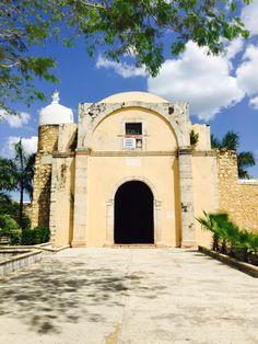 Iglesia Inmaculada Concepción de Chocholá Yucatán MÉXICO