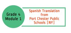 This is a Spanish translation of student-facing materials of Engage NY (Eureka Math) Grade 4, Module 1, a resource developed by Port Chester Public Schools.