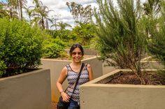 No Jardim de Ervas do Inhotim, em Brumadinho, Minas Gerais.