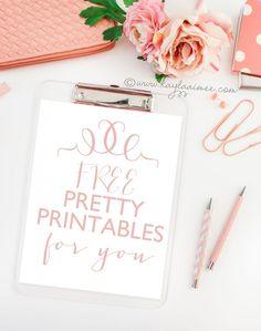 Free Printables and Free Printable Art by Kayla Aimee