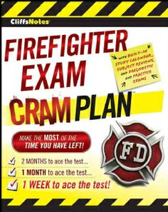 CliffsNotes Firefighter Exam Cram Plan (Paperback)