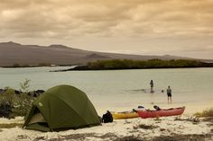 Haven't you always wanted to camp on the Galapagos Islands? ROW is the only company allowed to do so! rowadventures.com #Galapagos #camping