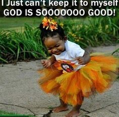 ~A 'little' child of God!