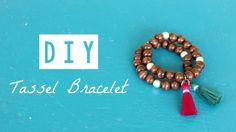 DIY. Tassel Bracelet