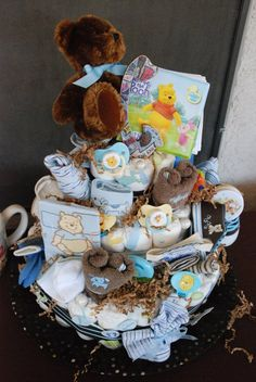 Want to make a girl version of this for my prego sister! Excited for her shower this weekend!