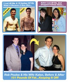 It all started as the brainchild of Rob Poulos – the guy from Michigan who himself had to go through a long standing battle against the ever-annoying issue of overweight. (Read More...Click Here ımage)