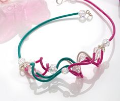 Transform coloured wire into funky statement jewellery