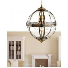 Ceiling Lights & Fans Modern Led Pendant Lights Orifice Bronze Plating Glass Ball Pendant Lamp Ball Bar Corridor Nordic Lamp Restaurant Hotel Hanglamp