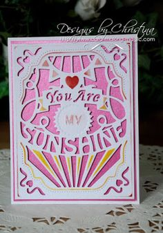 You Are My Sunshine ...