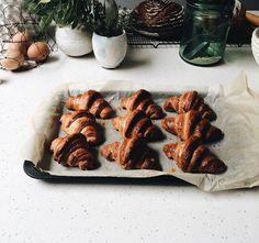 rye & spelt croissants
