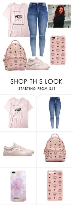 """""""""""Hi Bich"""" ;-)"""" by madisonb902 ❤ liked on Polyvore featuring Vans, MCM and iDeal of Sweden"""