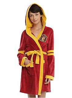 Wrap up in your house robe // Harry Potter Gryffindor Robe