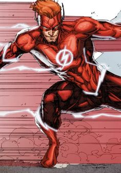 Here's a look at the core members of DC's truly rebooting TITANS - including Wally West.