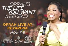 Seattle one of eight cities on 'Oprah's The Life You Want Weekend' 2014 tour