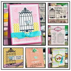 The Stamps of Life with Stephanie Barnard: New Club Set... birdcage2stamp!!!!