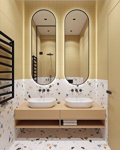 Architecture,Visual Effects,Interior Design Childrens Bathroom, Bathroom Kids, Bathroom Colors, Modern Bathroom, Minimalist Small Bathrooms, Office Interior Design, Bathroom Interior Design, Bathroom Toilets, Washroom