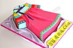 Hanbok Cake Inspiration
