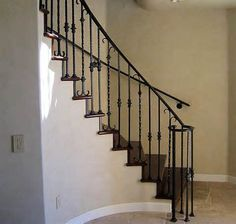 Marvelous Iron Stair Railing   Google Search
